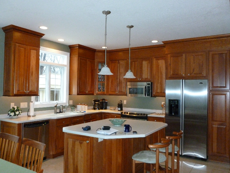 Kitchen remodeling gallery kitchens by premier for Bathroom remodel rochester ny