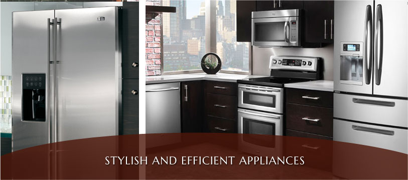 stylish and efficient kitchen appliances