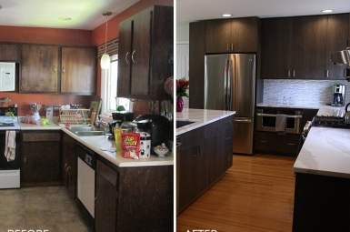 Kitchen Remodeling before and after Henrietta NY