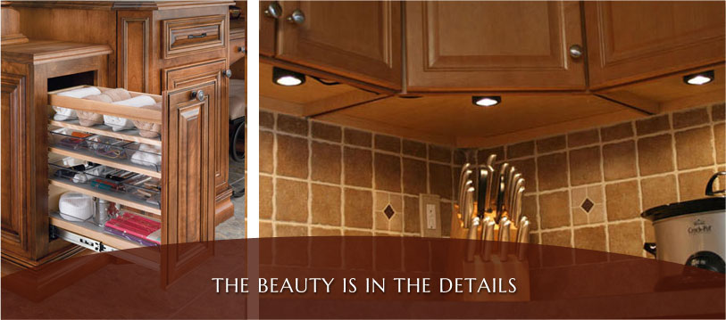 kitchens and bath accessories