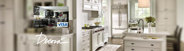 decora kitchen cabinet sale banner