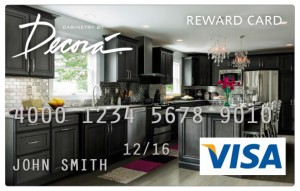 Decora $1,000 Visa Rebate Card!